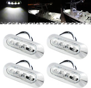 Pseqt 3.8and039and039 Waterproof Boat Marine Led Lights Courtesy Interior Deck Light Stern