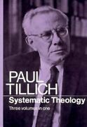 Systematic Theology By Paul Johannes Tillich