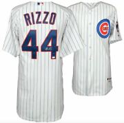 Anthony Rizzo Chicago Cubs Signed White Authentic Jersey