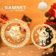 Christmas Led String Lights Home Indoor Or Outdoor Decoration 16 Cm Diameter