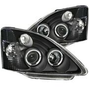 121057 Anzo Headlight Lamp Driver And Passenger Side New Lh Rh For Honda Civic