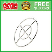 24 Inch Round Fire Pit Burner Ring For Natural Gas Or Propane 304 Series