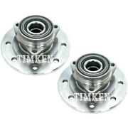 Set-tmha597851 Timken Wheel Hubs Set Of 2 Front Driver And Passenger Side New Pair