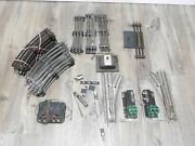 Vintage American Flyer O Scale 3 Rail Track And Switches
