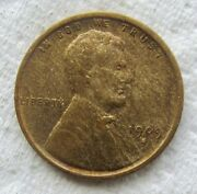 1909-s-vdb Lincoln Cent Rare Key Date Xf Detail Wood Grain Effect Minor Scratch