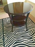 Baker Furniture Barbara Barry- Java 3 Tiered Round Side Table