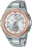 Casio Baby-g G-ms Msg-w200sg-4ajf Tough Solar Multiband 6 Womenand039s Watch F/s New