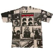 Vintage 90's Beatles All Over Print All Sports Tee T Shirt Size L Made In Usa