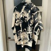 Vintage 90's Beatles All Over Print All Sports Tee T Shirt Size Xl Made In Usa