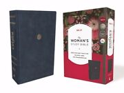 Nelson Bibles 165046 Nkjv Womans Study Bible - Full Color, Navy Blue Leather