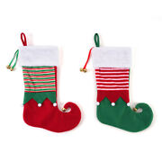 Ddi 2347553 Christmas Elf Stocking With Jingle Bells Case Of 48