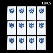 12x Vacuum Cleaner Bags For Miele 3d Gn Complete C2 C3/s2/s5/s8 S5210 White