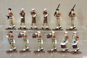 King And Country Gcr French Foreign Legion Wwii Soldiers Marching Band Pjm