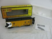 Vintage Mth Railking O/o-27 Scale Cp Rail Operating Rotary Snowplow 30-79371 Ex