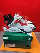 Rs-x Tech T3ch White Black Barbados Cherry Red 374914_01 Rsx Size 13