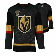 Vegas Golden Knights 2018 Western Conference Champions Signed Blk Adidas Jersey