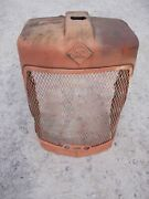 Allis Chalmers D17 Ac Tractor Original Front Nose Cone Grill W/ Emblem And Screen