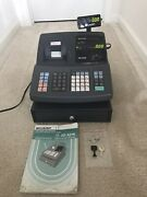 Sharp Xe-a206 Cash Register With Manual And All Keys Working