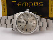 Tudor Oysterdate By Rolex 7989 Stainless Steel Year 1968 Automatic Watch
