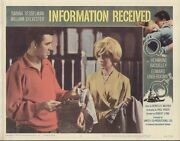 Information Received 11x14 Lobby Card 8