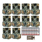 Browning Trail Cameras 18mp Dark Ops Apex Game Cam Ten-pack Kit W/ 32gb Sd Cards