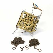 Ehs 30 Hour Cuckoo Clock Movement With Wooden Bird And Chains - Pk165