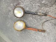 Allis Chalmers Wd Wd45 45 Ac Tractor Front Light Posts Non Work Lights