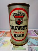 Drewrys Extra Dry Irtp Flat Top Empty Beer Can 56-2 South Bend, Indiana