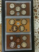 2013-s Clad U.s. Mint 14 Coin Proof Set Box And Coa As Issued Bin Free Shipping