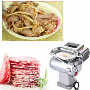 Meat Slicer Electric Machine Deli Food Cutter Home Kitchen Stainless Steel 600w
