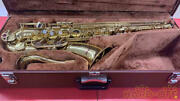 Yamaha Yts-32 016888 Maintained And Tested Saxophone Wind Instrument