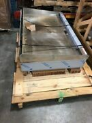 |1495| Wolf Agm48 48 Gas Griddle W/ Manual Controls - 1 Steel Plate Ng