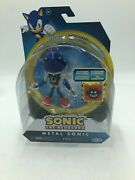 Sonic The Hedgehog Series 2 - Metal Sonic W/ Trap Spring Action Figure New