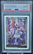 1992-93 Topps Gold Shaquille Oand039neal Rookie Card 362 Rc Hof Psa 10 Gem Mt