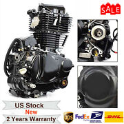 4-stroke Black Engine Single-cylinder 350cc For Most Chinese 3 Wheel Motorcycle