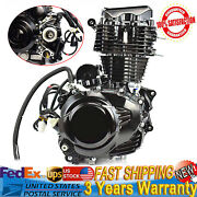 4-stroke Engine Single-cylinder Black Fit For Most Chinese 3 Wheel Motorcycle Us