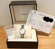 And Co. Atlas Ladies Watch Swiss Made Stainless Steel With Box Rare569/kn