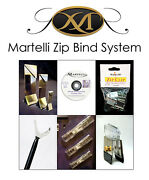 Martelli Zip Bind System Set Clips Miters Guns Sewing Quilting 8092a Cr