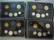 Holiday Gift Canada Canadian Pure Silver Partial Proof Sets 2013 2014 2015 2016