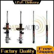 Fcs Suspension Shock Strut Set Front And Rear Fits 2004-2008 Chevrolet Aveo_4/lot