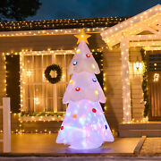 Outdoor 8and039 Christmas Tree Holiday White Led Lit Inflatable Lawn Yard Decoration