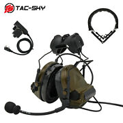 Tactical Airsoft Noise Cancelling Hearing Protection Hunting Shooting Headset Fg
