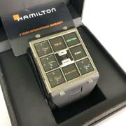 Hamilton Watch Time Player H51511331 Limited To 999 Watches World Unused137/kn