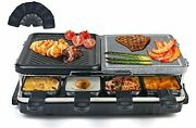 Korean Bbq Grill Electric Griddle Smokeless Indoor Grill 8 Mini Grill Pans With