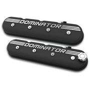 241-120 Holley Set Of 2 Valve Covers New For Chevy Chevrolet Camaro Pontiac Pair
