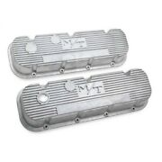 241-87 Holley Set Of 2 Valve Covers New For Chevy Suburban Express Van Pair