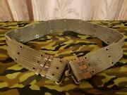 60and039vintage M1956 Horizontal Weave Early Type Pistol Belt
