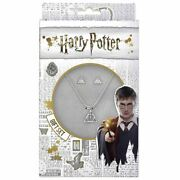 Harry Potter Deathly Hallows Symbol Earring And Necklace Set - Boxed Jewellery