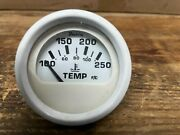 Used Faria Outboard Water Temperature Gauge