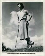 1968 Press Photo Louise Suggs, Member Of The Macgregor Golf Advisory Staff